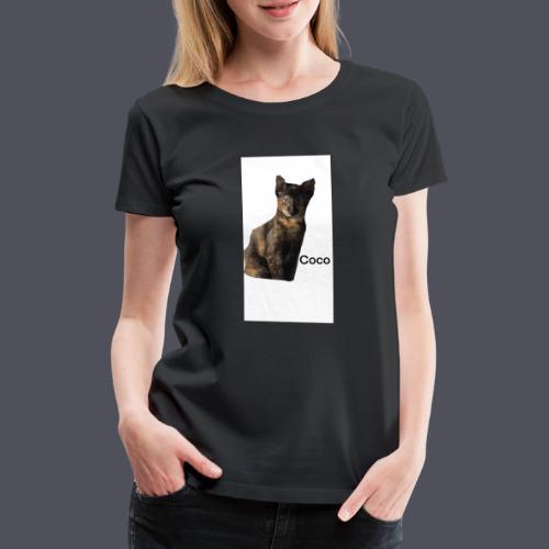 Coco the Kitten - Women's Premium T-Shirt