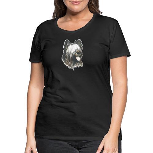 BRIARD Chien - T-shirt Premium Femme
