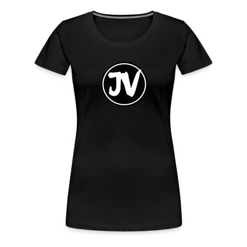 Jonathan Vlog Logo Kreis - Frauen Premium T-Shirt