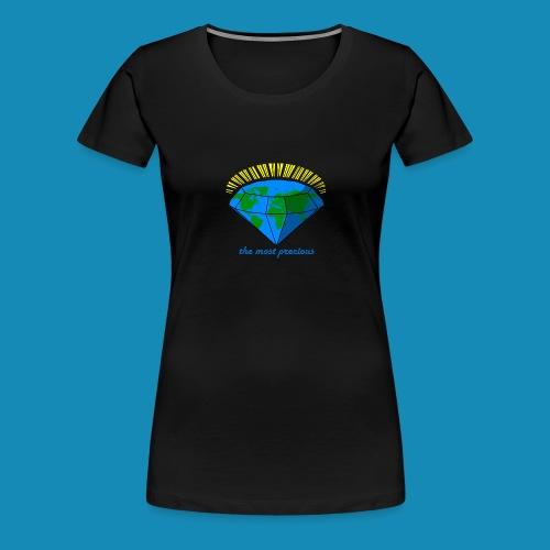 Diamond World - Frauen Premium T-Shirt