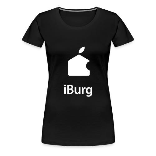 iburg def - Vrouwen Premium T-shirt