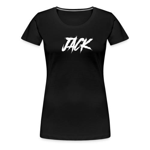 JACK weiss - Frauen Premium T-Shirt