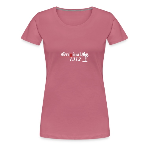 1312 T-Hemd [Druck beidseitig] - Frauen Premium T-Shirt