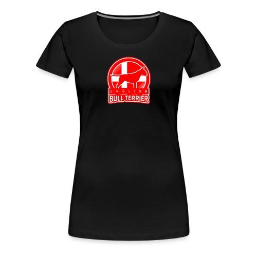 Bull Terrier Denmark - Frauen Premium T-Shirt