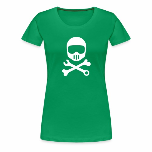 Helmet Bones N Tools - Women's Premium T-Shirt
