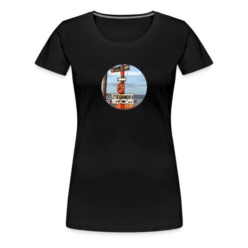 Punta del diablo Uruguay - Camiseta premium mujer