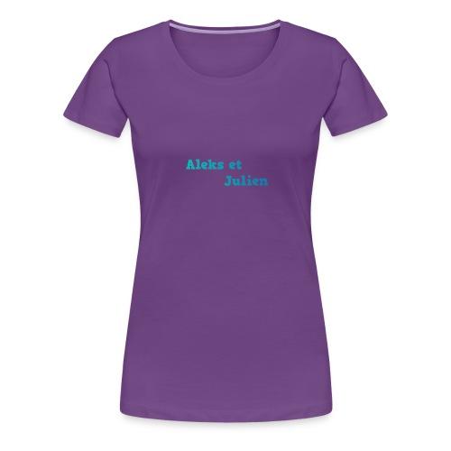 Notre logo - T-shirt Premium Femme