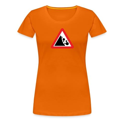 Sarkasmivaara - Naisten premium t-paita
