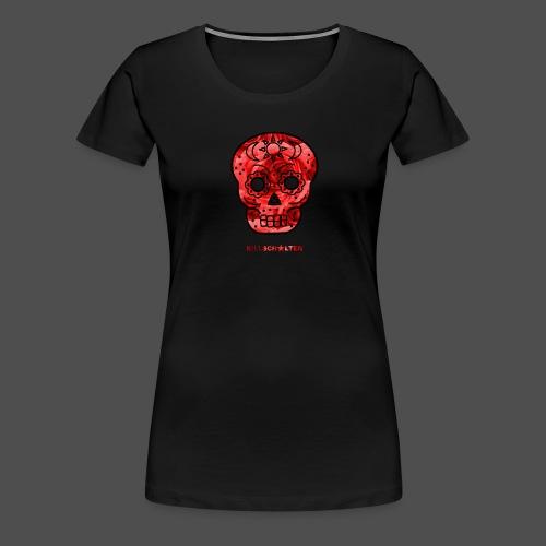Skull Roses - Women's Premium T-Shirt