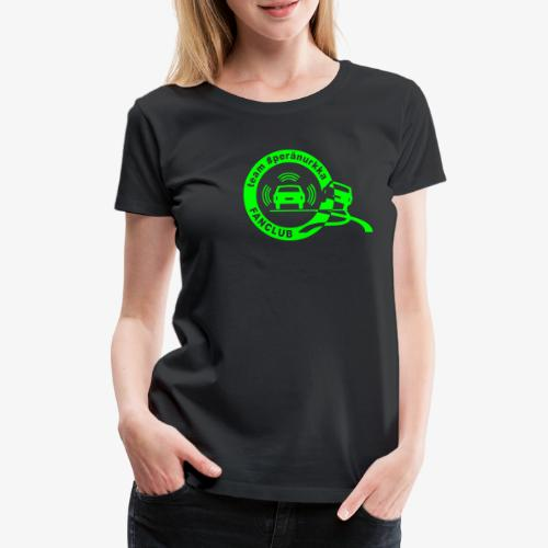 peränurkka fanclub loud - Premium-T-shirt dam