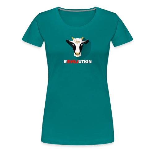 Vegan Revolution - T-shirt Premium Femme