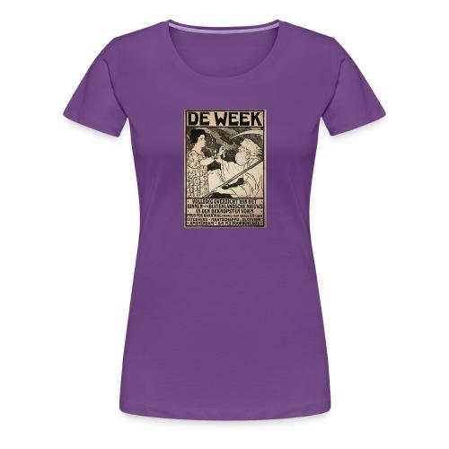 de week - Women's Premium T-Shirt