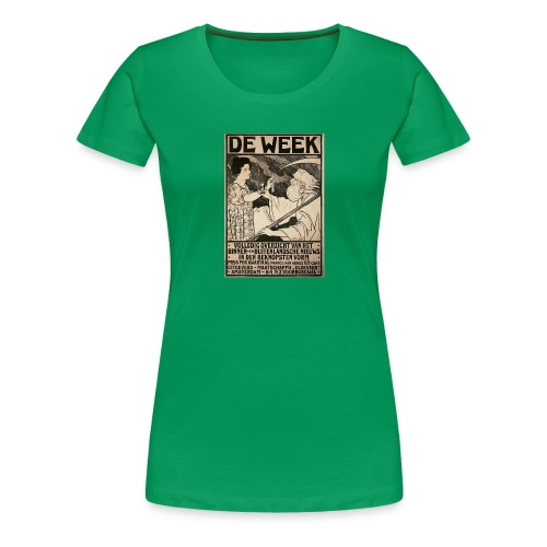 de week - Women's Premium T-Shirt