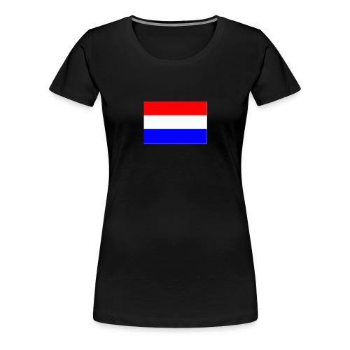 vlag nl - Vrouwen Premium T-shirt