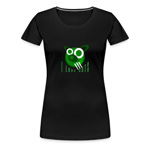I Love Cats - Women's Premium T-Shirt
