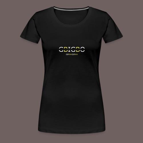 GBIGBO zjebeezjeboo - Retour à l'essentiel - T-shirt Premium Femme