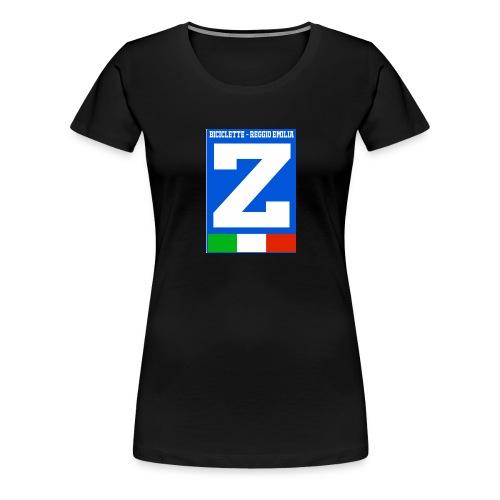 LOGO Zaccheo biciclette - Maglietta Premium da donna