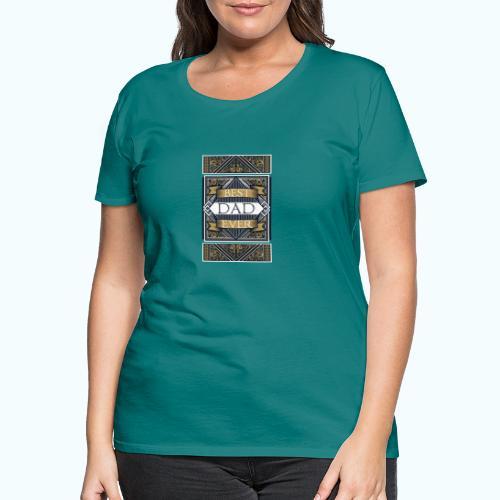 Best Dad Ever Retro Vintage Limited Edition - Women's Premium T-Shirt