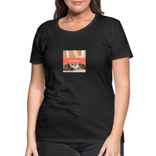 drengene hoodie - Dame premium T-shirt