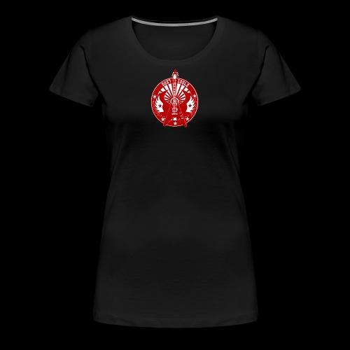 logo DUSTIDOLS RUEDA - Camiseta premium mujer