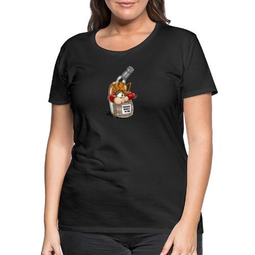 Beerbottle revenge Whiskey - Premium-T-shirt dam