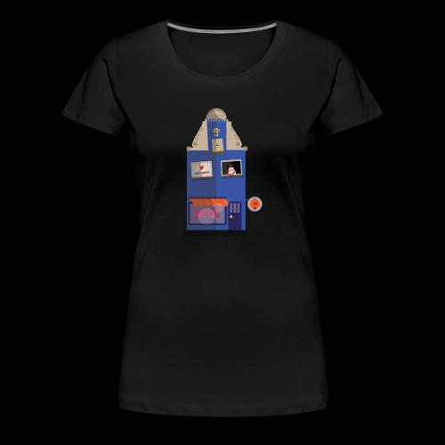Amsterdam Tattooshop - Vrouwen Premium T-shirt