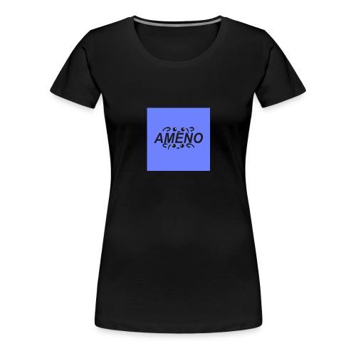 amenoViolet2 png - T-shirt Premium Femme