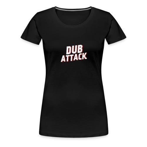 dub attack blanc rouge - T-shirt Premium Femme