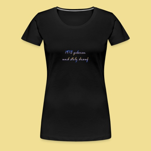1978 - Frauen Premium T-Shirt
