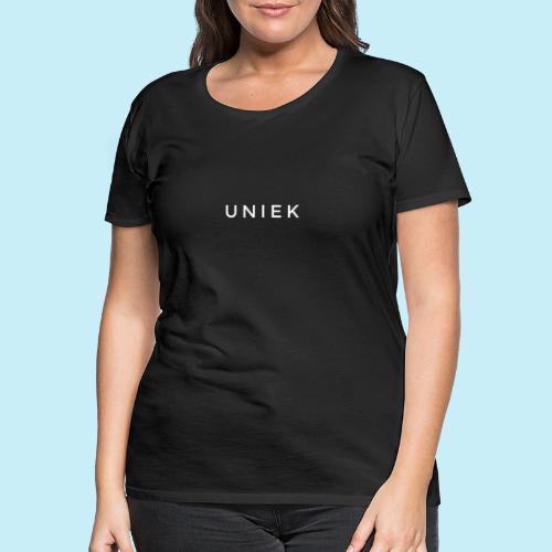 unique - T-shirt Premium Femme