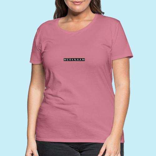 marque - T-shirt Premium Femme