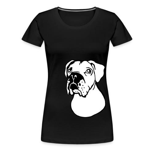 bokseri - Naisten premium t-paita