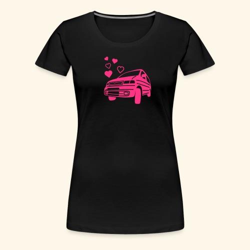 bongo valentine hearts - Women's Premium T-Shirt