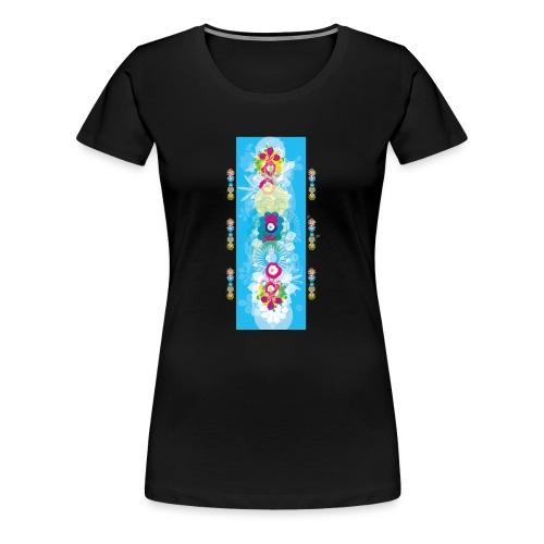 melange color - T-shirt Premium Femme