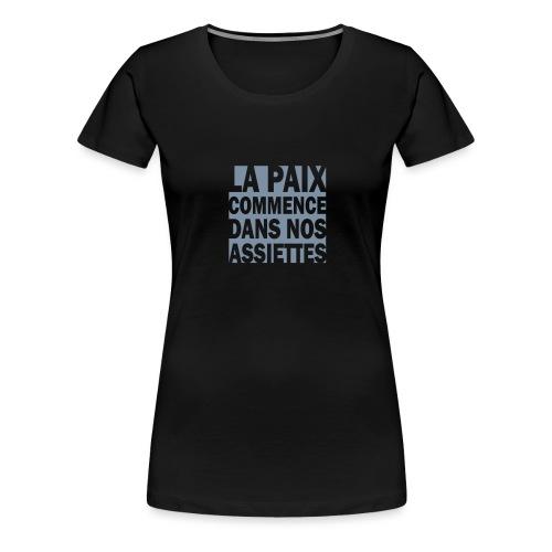 PAIX2 - T-shirt Premium Femme