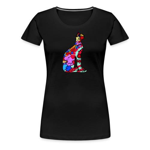 Serenicat - Women's Premium T-Shirt