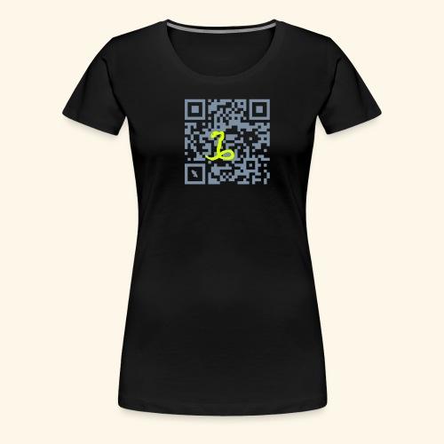 qr code flag martinique27 - T-shirt Premium Femme