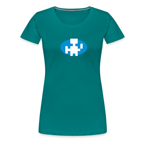 FBF Warrior 8-bit - Women's Premium T-Shirt