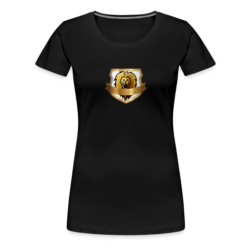 THE ROYAL LION - Women's Premium T-Shirt