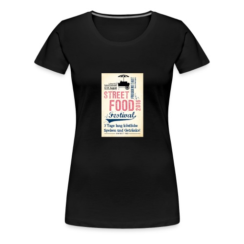 streetfood1 - Frauen Premium T-Shirt