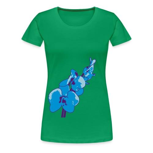 Orchidee - Frauen Premium T-Shirt