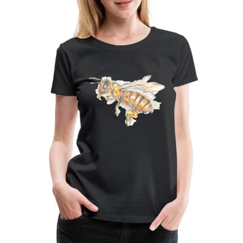 MG002 Bee | Honey | Save the Bees | Books bee - Women's Premium T-Shirt