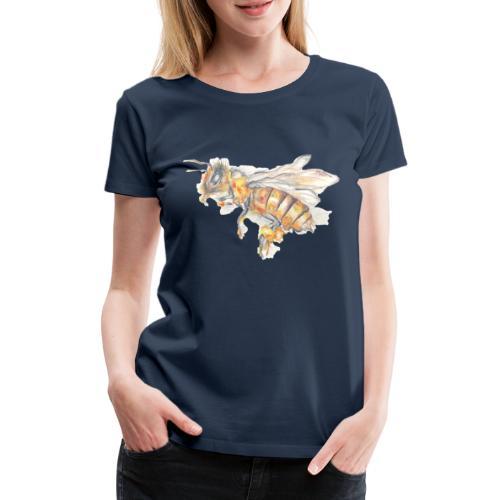 MG002 Bee | Honey | Save the Bees | Books bee - Women's Premium T-Shirt