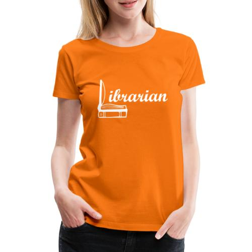 0325 Librarian Librarian Cool design - Women's Premium T-Shirt