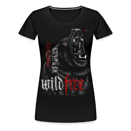 WILDFREE | BEAR - Frauen Premium T-Shirt