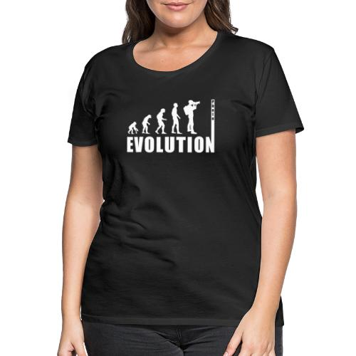 EVOLUTION PHOTOGRAPH - Frauen Premium T-Shirt