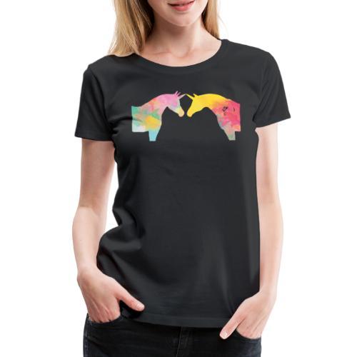 Unicorn Love - Naisten premium t-paita