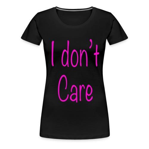 Ist mir egal i dont care Spruch Geschenk - Frauen Premium T-Shirt