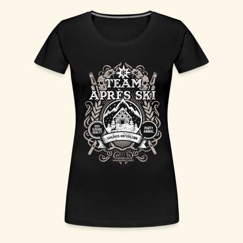 Saalbach-Hinterglemm Apres Ski T Shirt   Party - Frauen Premium T-Shirt