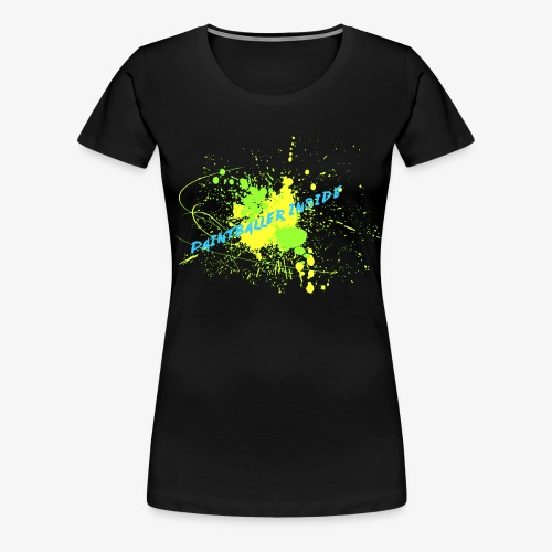 Paintballer Inside - Frauen Premium T-Shirt